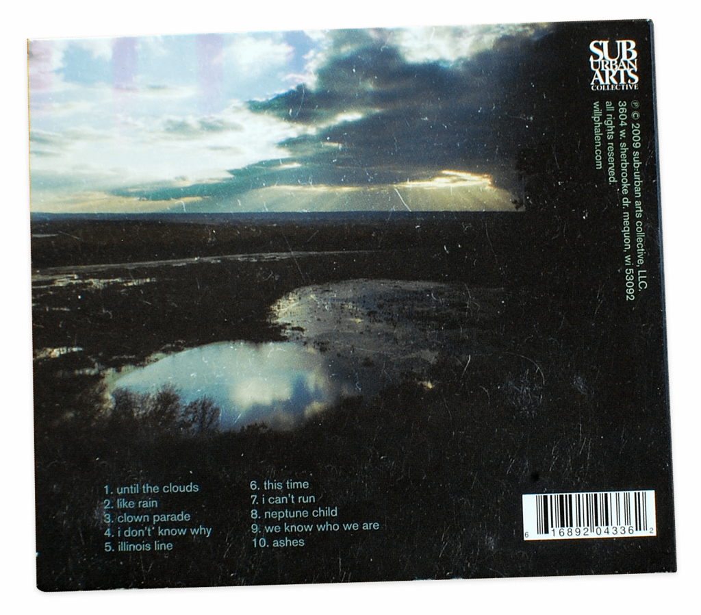 Will Phalen & The Stereo Addicts, Back Cover